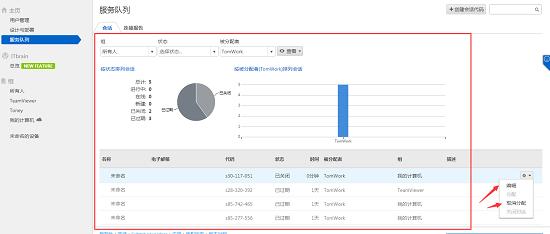官网TeamViewer服务页面