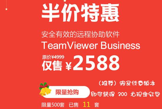 TeamViewer年终福利