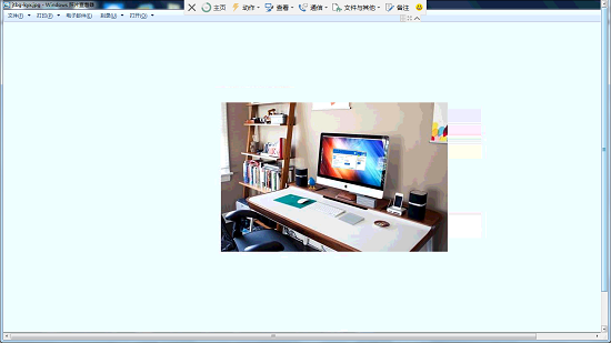 TeamViewer成功连接后的主界面