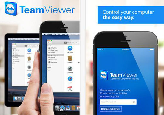 手机端TeamViewer应用程序