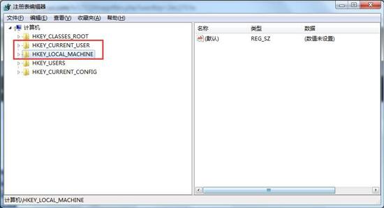 找到注册表中的TeamViewer注册表项