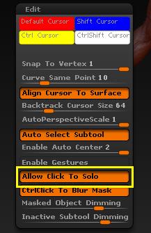 SubTool单独显示