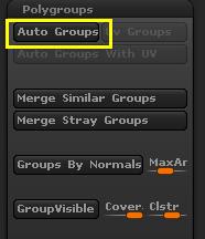Auto Groups按钮