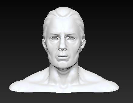 人物头像模型
