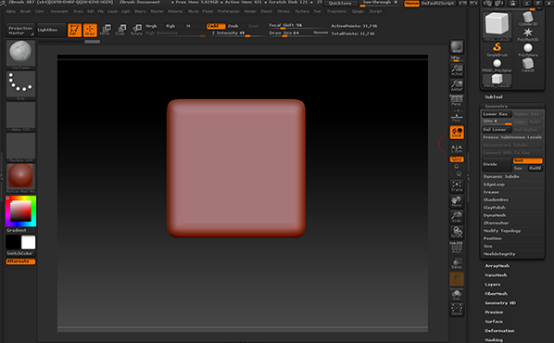 立方体模型