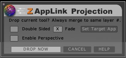ZAppLink界面提示