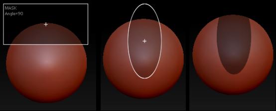 椭圆遮罩绘制