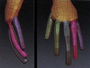 Z球细化手部