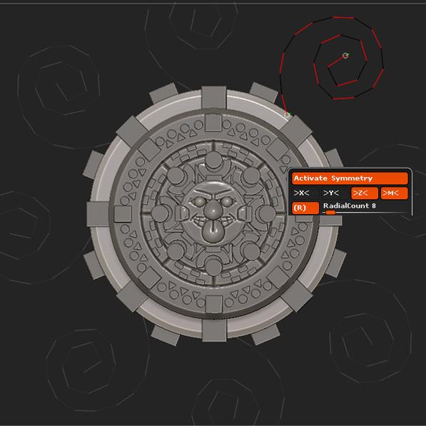 创建螺旋形状