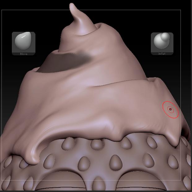雕刻巧克力模型