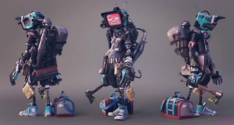 机器人Crazy2