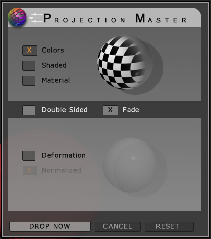 Projection Master功能