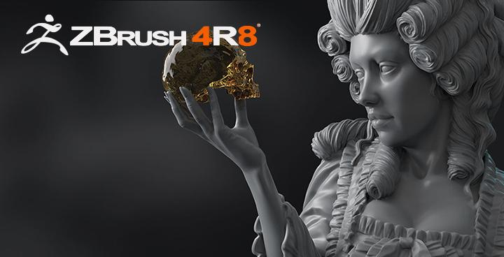 ZBrush 4R8系统要求