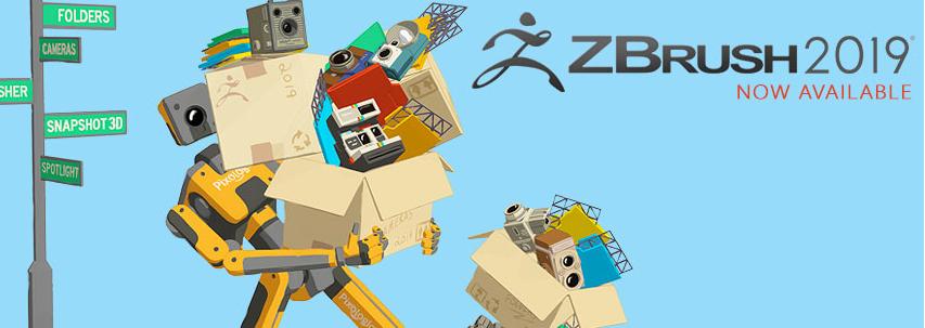ZBrush 2019发售