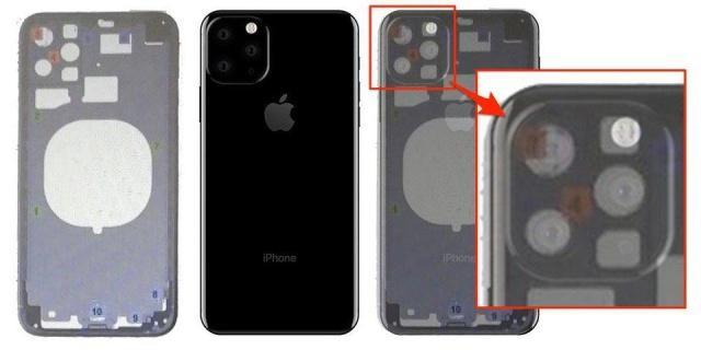 爆料的新一代iPhone 外型的内部设计图