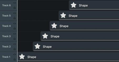 图2:Camtasia软件制作星星出现频次