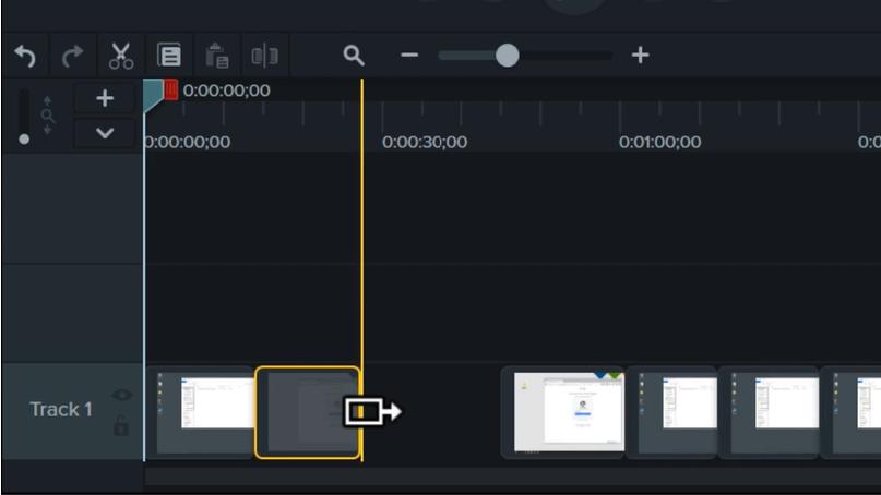 图3:延伸框架+波纹移动界面操作