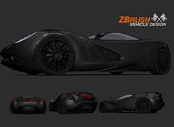 ZBrush汽车设计